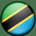 Drapeau E-Visa Tanzanie