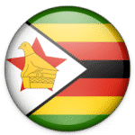 Drapeau E-Visa Zimbabwe