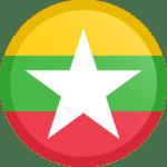 Drapeau E-Visa Myanmar Birmanie